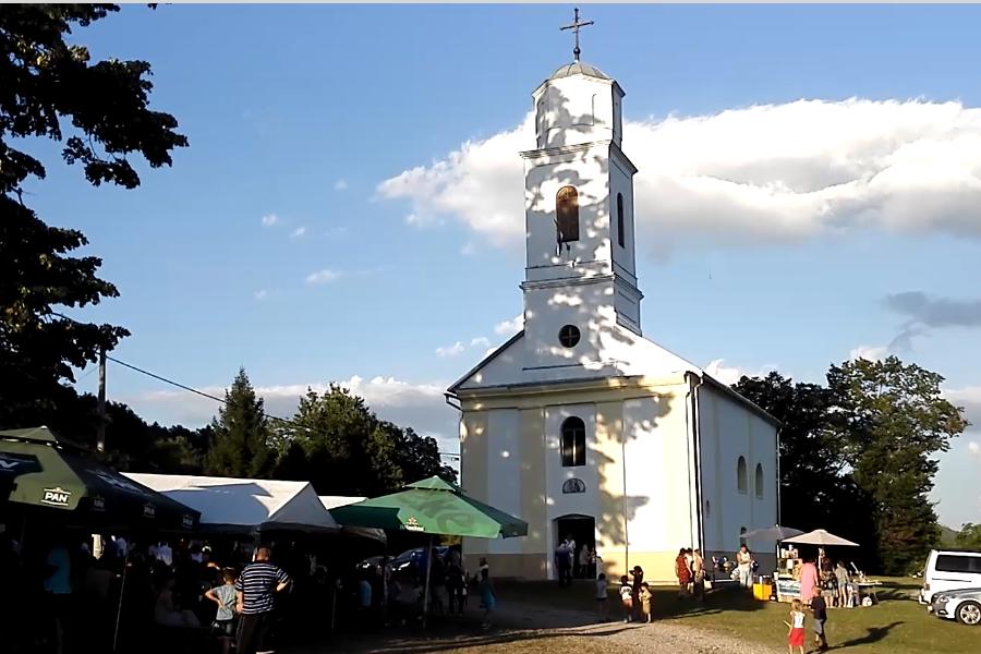 Obnovljena crkva u Donjem Žirovcu